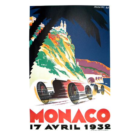 Monaco Grand Prix 1932  // Robert Falcucci