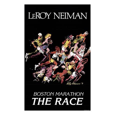 Boston Marathon // LeRoy Neiman