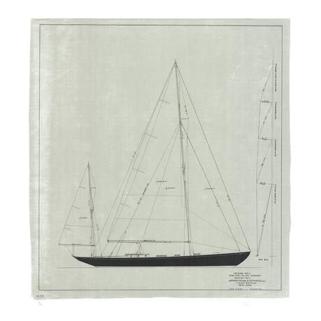 Dorade: Sail Plan, 1936 // Olin Stephens