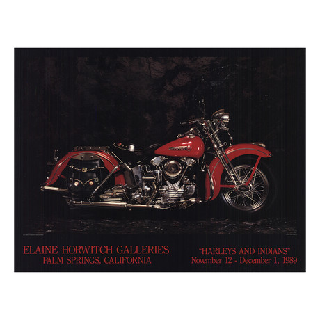 1947 Harley Davidson Knucklehead // Jeff Dorgay