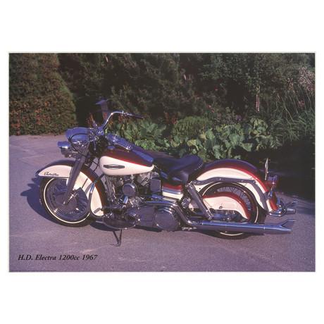Harley Davidson Electra 1200c 1967 // Forlag Hakan Eriksson