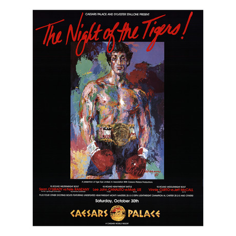 The Night of the Tigers // LeRoy Neiman