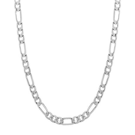 """Franco Chain Necklace // Silver (24"""")"""