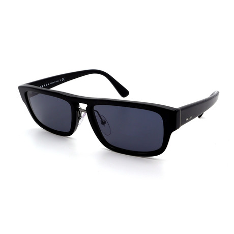 Prada // Men's PR05VS-1AB0A9 Heritage Sunglasses // Black + Gray