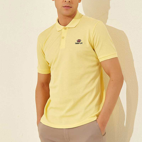 Classic Polo // Yellow (S)