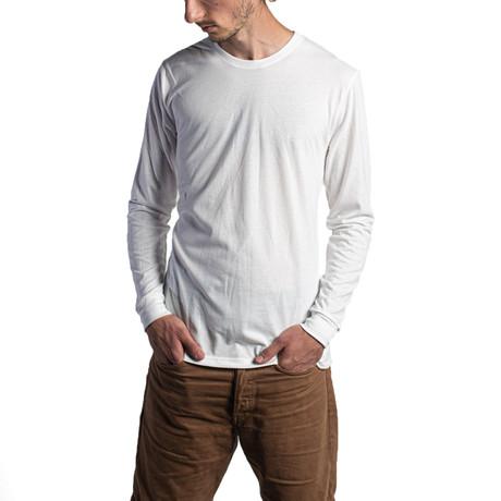 The Premium Long Sleeve // White (XS)