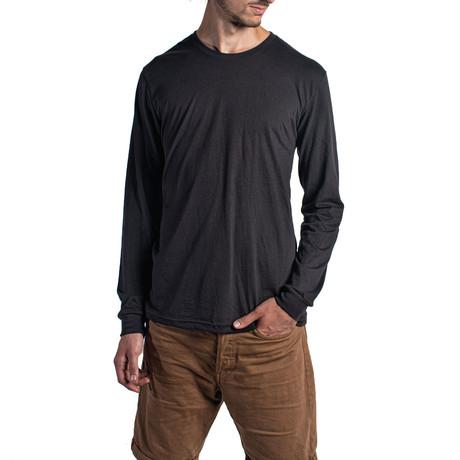 The Premium Long Sleeve // Black (XS)