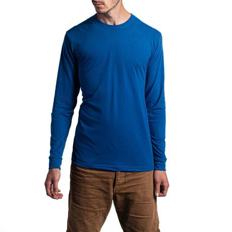 The Premium Long Sleeve // Royal Blue (XS)