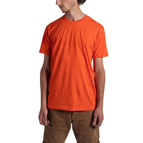 The Better Basic Crew // Classic Orange (XS)