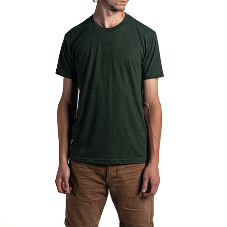 The Triblend Crew // Forest Green (XS)