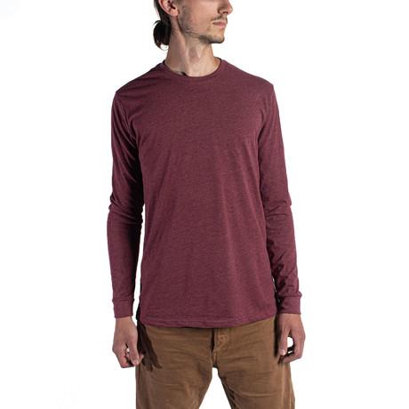 The Premium Long Sleeve // Maroon (XS)