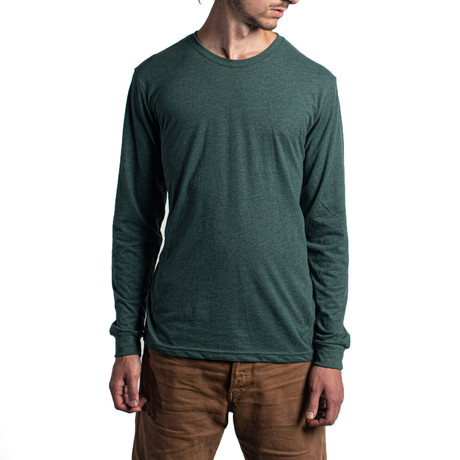The Premium Long Sleeve // Forest Green (XS)