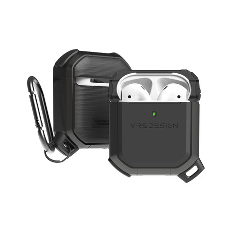 Airpods 1/2 Case // Active Series // Metal Black