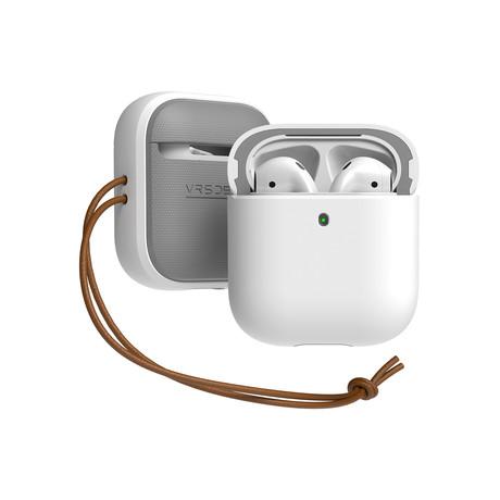 Airpods 1/2 Case // Modern Series // White