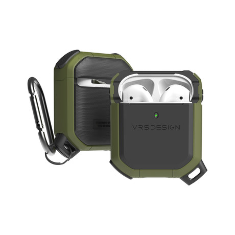 Airpods 1/2 Case // Active Series // Green