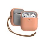 Airpods 1/2 Case // Modern Series // Peach