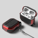 Airpods Pro Case // Active Series // Metal Red