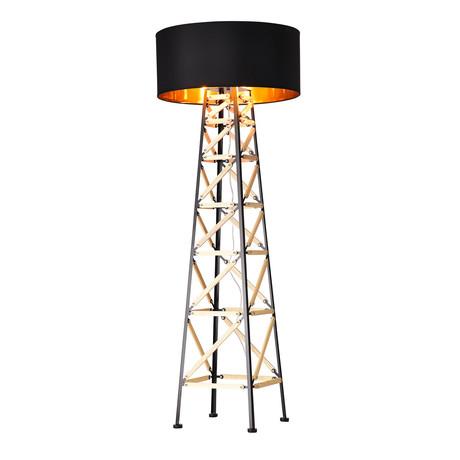West Color-Changing Floor Lamp (Black)