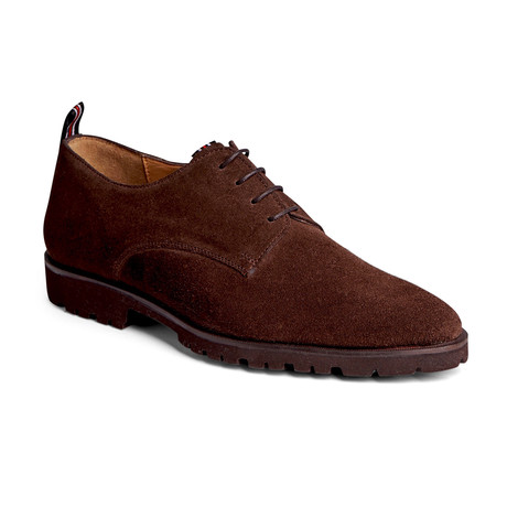 Power Lite Derby Suede // Chocolate Brown (US: 7)