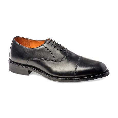 Woodstock Cap-Toe Oxford // Black (US: 7)