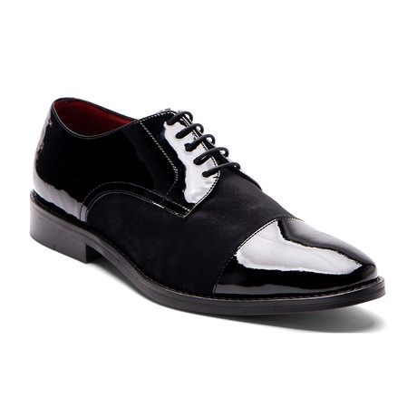 West Cap-Toe Derby // Black (US: 7)