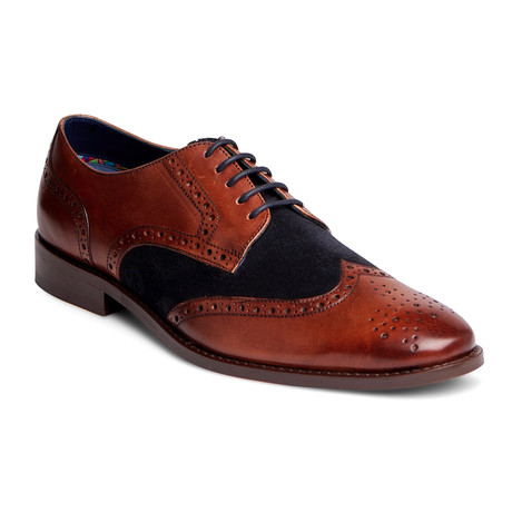 Szabo Wingtip Derby // Walnut (US: 7)