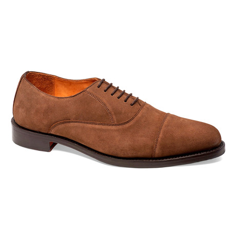 Woodstock Cap-Toe Oxford // Honey Brown (US: 7)