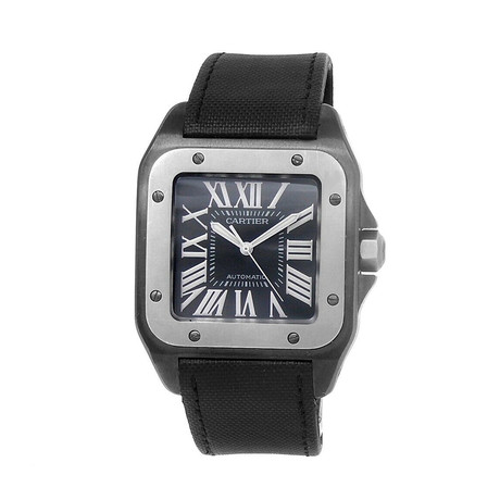 Cartier Santos 100 Automatic // W2020010 // Pre-Owned