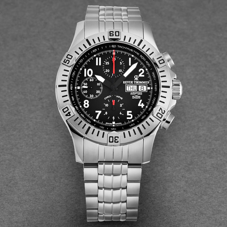 Revue Thommen Airspeed Xlarge Chronograph Automatic // 16071.6134 // New