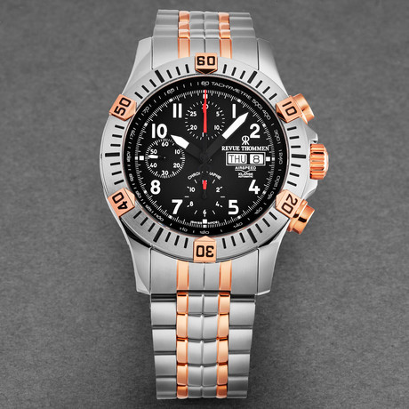 Revue Thommen Airspeed Xlarge Chronograph Automatic // 16071.6154