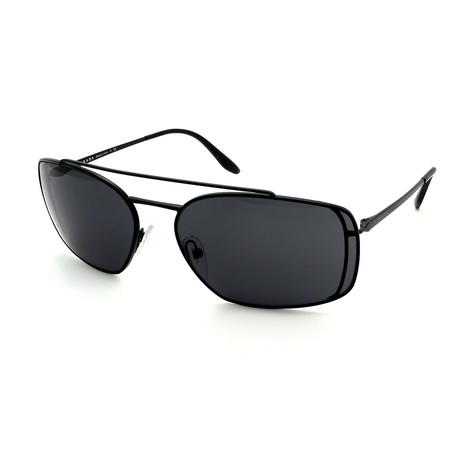 Prada // Men's PR64VS-1BOA1 Sunglasses // Black + Gray