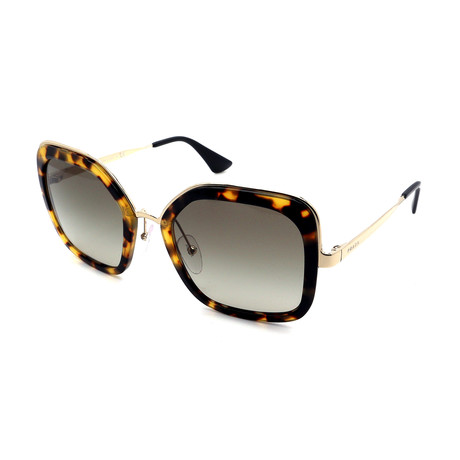 Prada // Women's PR57US-7S05O2 Large Sunglasses // Tortoise + Gray Gradient
