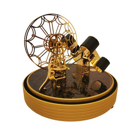 Ferris Wheel // Gold