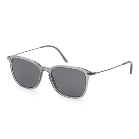 Giorgio Armani // Men's AR8111-56818754 Sunglasses // Gray + Gray