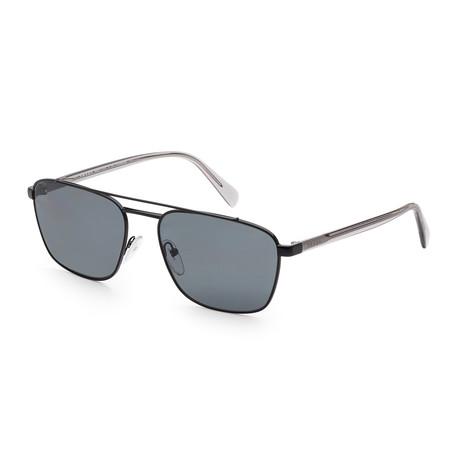 Men's PR61US-1AB5Z159 Polarized Sunglasses // Black + Gray