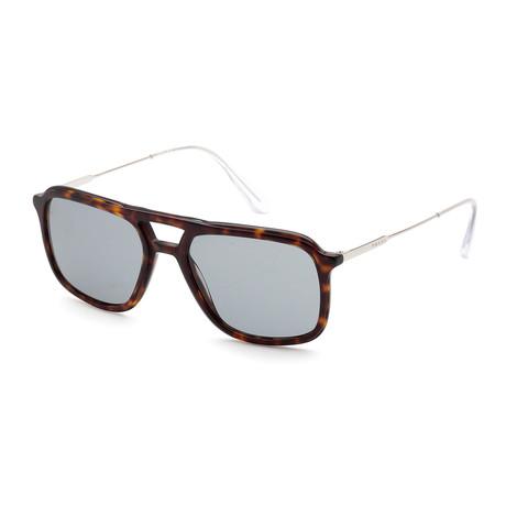 Men's PR06VS-2AU3C254 Polarized Sunglasses // Havana + Gray