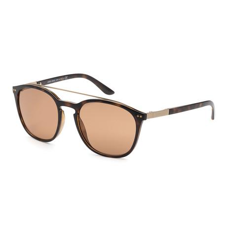 Giorgio Armani // Women's AR8088-50267353 Sunglasses // Havana + Brown