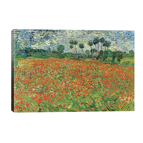 Field Of Poppies, Auvers-sur-Oise, 1890