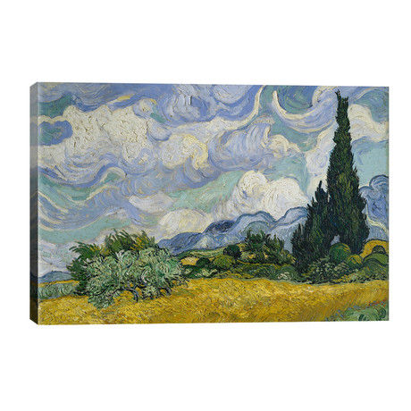 Wheat Field With Cypresses, June-July 1889 (Metropolitan Museum Of Art, NYC)