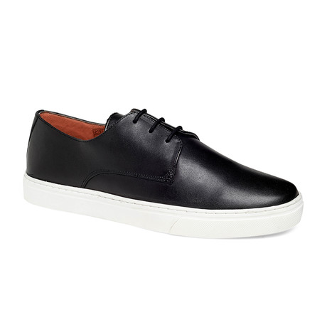Coolidge Derby Sneaker // Black + White (US: 7.5)