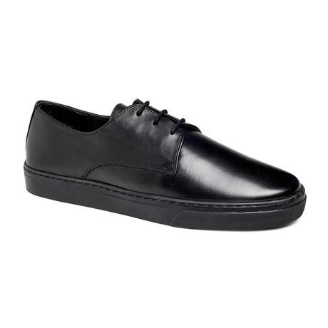 Coolidge Derby Sneaker // Black + Black (US: 7.5)