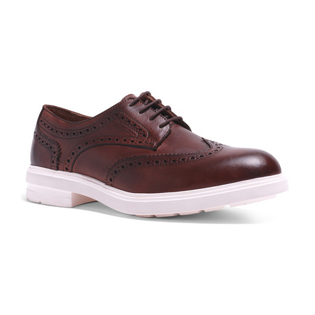 Harrison Hybrid Wingtip // Dark Brown (US: 7.5)