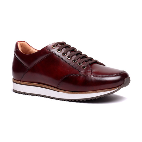 Barack Court Sneaker // Burgundy (US: 7.5)