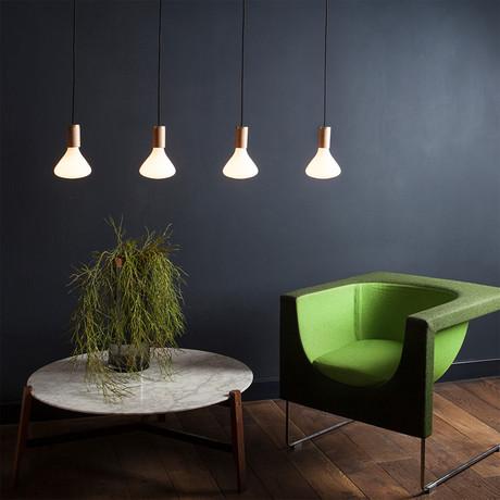 Noma Ceiling Light // Oak