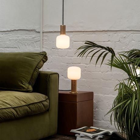 Oblo Pendant Light // Oak