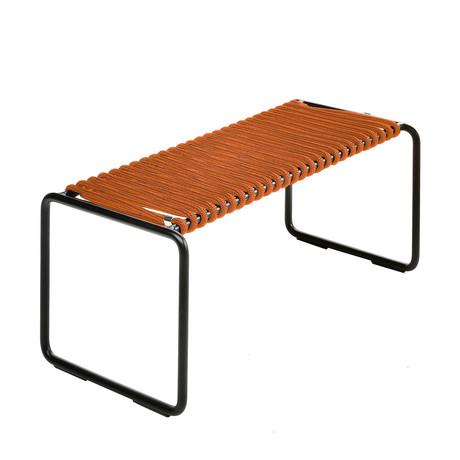 Rada Ottoman // Black + Orange Rope
