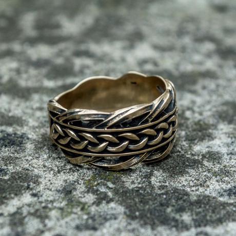 Bronze Viking Collection // Viking Knit Ring (6)