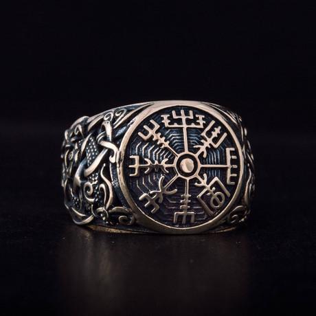 Bronze Viking Collection // Mammen Ornament Signet + Vegvisir (6)