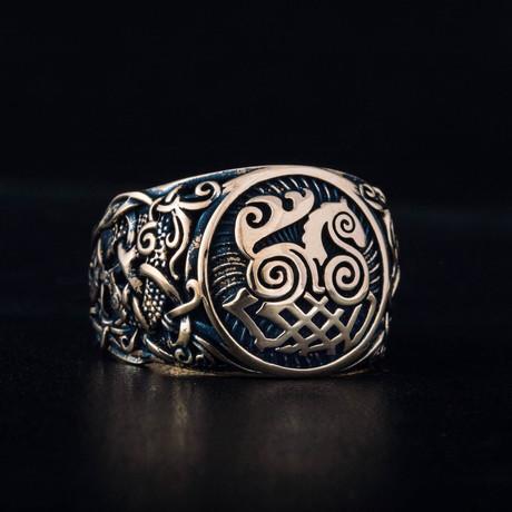 Bronze Viking Collection // Mammen Ornament Signet + Sleipnir (6)