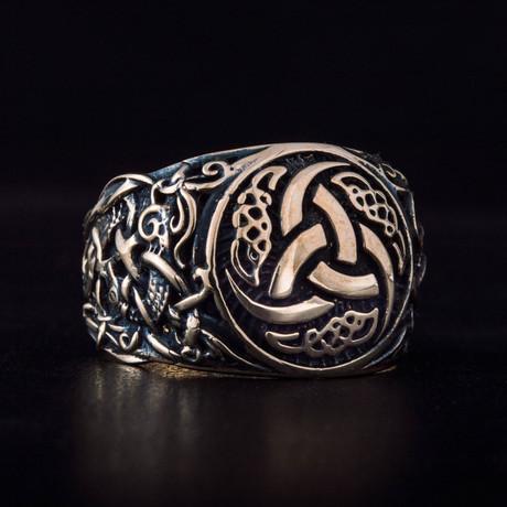 Bronze Viking Collection // Mammen Ornament Signet + Odin Horn (6)